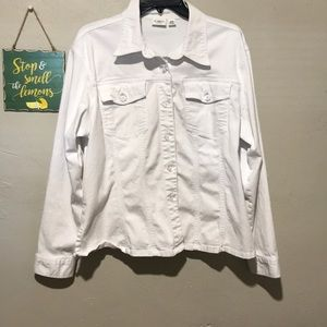 Cato White Jean jacket